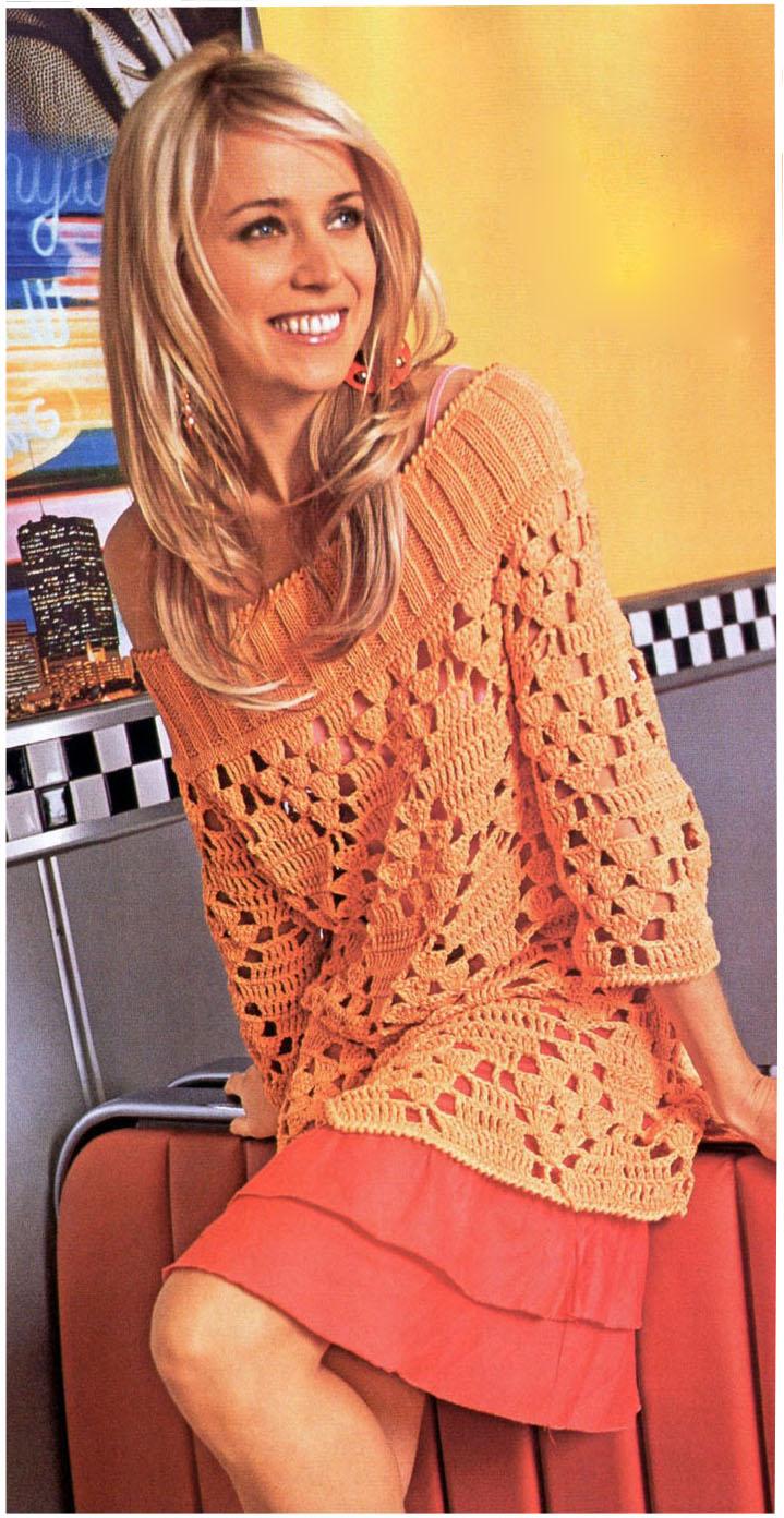Пуловер Модели