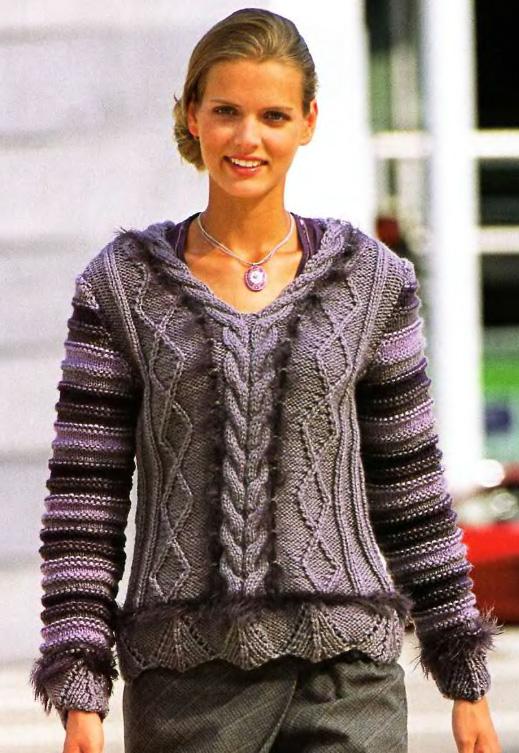 Схемы и описания для свитеров